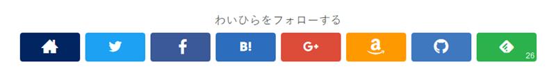 feedlyフォローボタンに購読者数が表示される