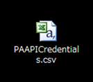 PAAPICredentials.csv