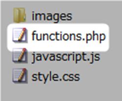 スキンのfunctions.phpファイル